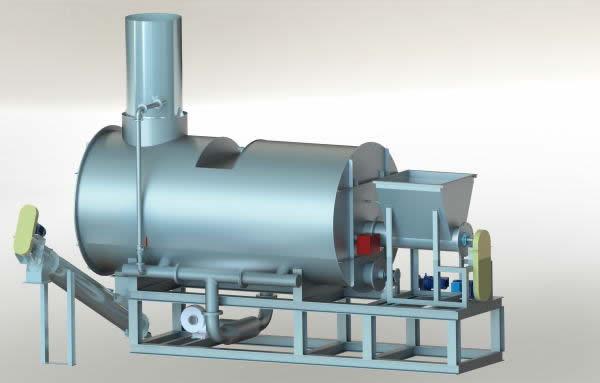 籾殻炭化炉