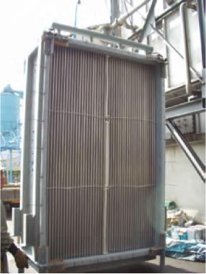 二重管式熱交換器
